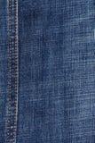 Sluit van omhoog jeans Royalty-vrije Stock Foto's