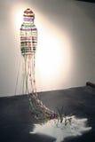 Sluizen. Changement des poteaux. Image stock