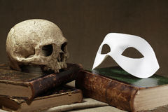 Slull And Mask Stock Photo