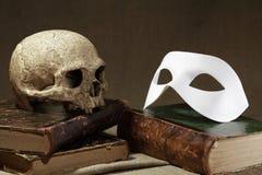 Slull och maskering arkivfoto