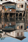 Slum. Under the sun in bangkok royalty free stock images