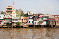 Slum area Stock Images
