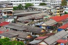 Slum area in Bangkok Royalty Free Stock Photos