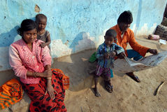Slum Area of India Royalty Free Stock Photo