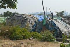 Slum area Royalty Free Stock Image