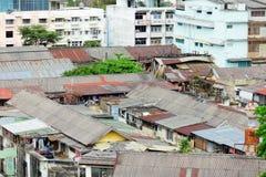 Slum area in Thailand Royalty Free Stock Image
