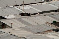 Slum in Bangkok City Royalty Free Stock Images