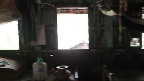 Slum Burma stock footage