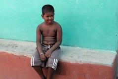Slum Child stock image