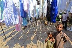 Slum Children Stock Photography