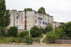 Slum flats Stock Photo