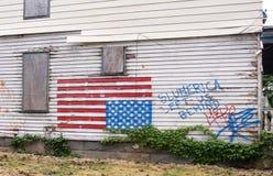 A slum house Stock Photo