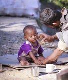 Slum India – Dharamshala. Royalty Free Stock Image