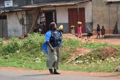 Slum of Kampala, Uganda, Africa Royalty Free Stock Photography