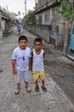 Slum Kids Royalty Free Stock Image
