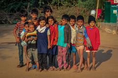 Slum Kids India Stock Photos