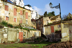 Slum in Lisbon Stock Photography