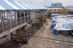 Slum in Mumbai Royalty Free Stock Photo