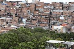 Slum, neighborhood of sao paulo, brazil Royalty Free Stock Photography