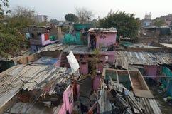 Slum in New Delhi Royalty Free Stock Photography