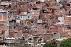 Slum, poverty in neighborhood of Sao Paulo Stock Photography