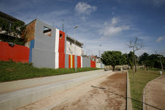 Slum revitalized Stock Photo