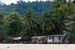 Slum In the seaside Stock Photo