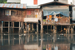 Slum under the sun Royalty Free Stock Photo