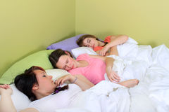 Slumber party Royalty Free Stock Photo