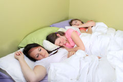 Slumber party Royalty Free Stock Images