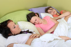 Slumber party Stock Photos