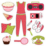 Slumber party Stock Images