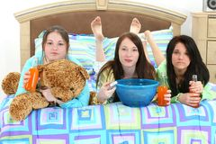 Slumber Party stock photography