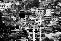 Slumkvarter Arkivbild