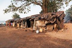 Slumkvarter Arkivbilder