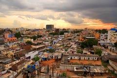 Slumkvarter i Hyderabad Royaltyfria Foton
