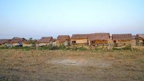 Slumkvarter Myanmar Royaltyfri Bild