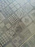 Slumpmässig abstrakt teckning Royaltyfri Bild