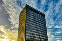 Slumpmässig byggnad i Asheville, North Carolina, USA Royaltyfri Fotografi