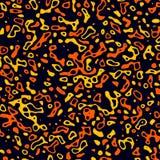 Slumpmässig fläckfärgstänk Arkivfoto