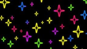 Slumpmässig Nero stjärnafärg Arkivbilder