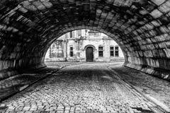 Slumpmässig tunnel Royaltyfri Fotografi