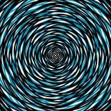 Slumpmässiga koncentriska cirklar Abstrakt bakgrund med ojämn ci Arkivbild
