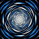 Slumpmässiga koncentriska cirklar Abstrakt bakgrund med ojämn ci Arkivfoton