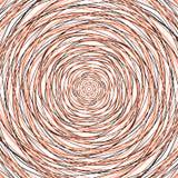 Slumpmässiga koncentriska cirklar Abstrakt bakgrund med ojämn ci stock illustrationer