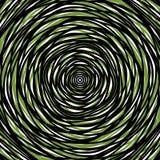 Slumpmässiga koncentriska cirklar Abstrakt bakgrund med ojämn ci royaltyfri illustrationer