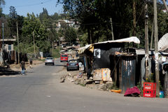 Slums in africa Stock Images
