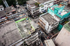 Slums in Bangkok Royalty Free Stock Photography