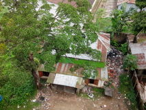 Slums. With dust Stock Photos