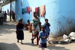Slums in Kolkata Stock Image